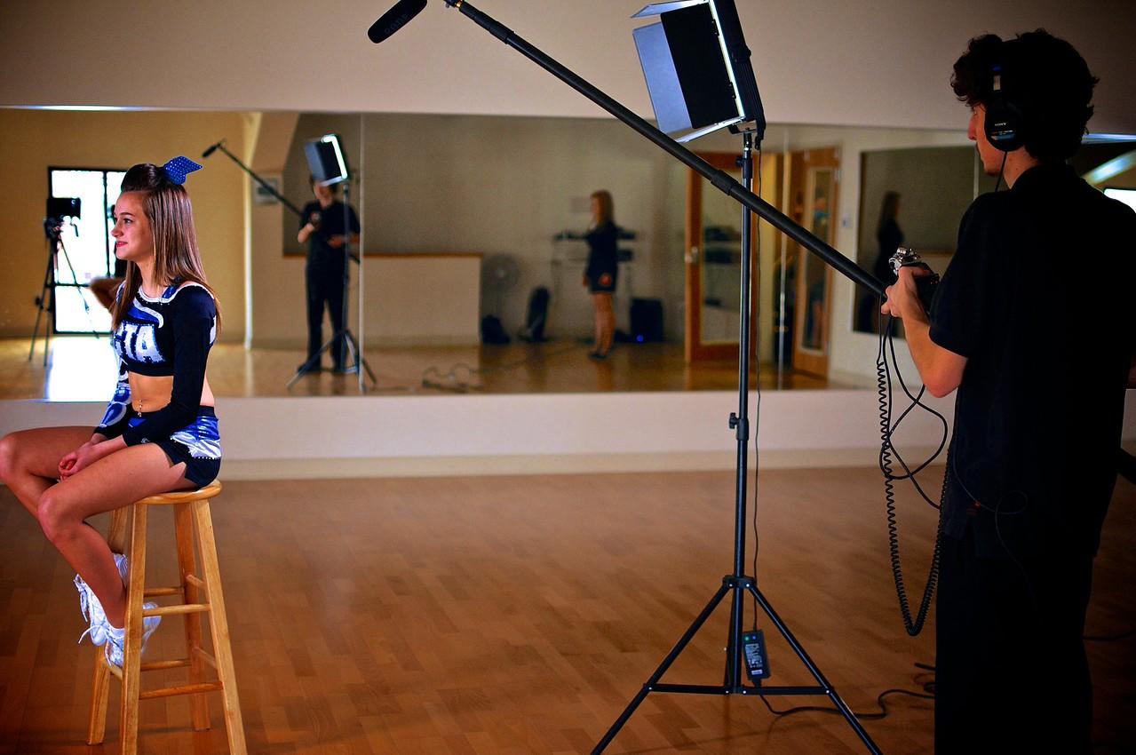 Unit4media Filming CTA High Flyers, Unit4media Filming CTA High Flyers
