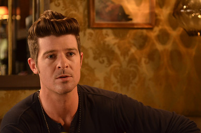 Robin Thicke from Abby in the Summer.
