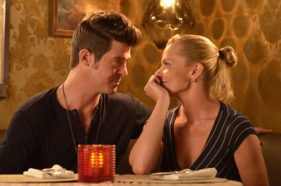 Robin Thicke and Jamie Pressly from Making the Rules.