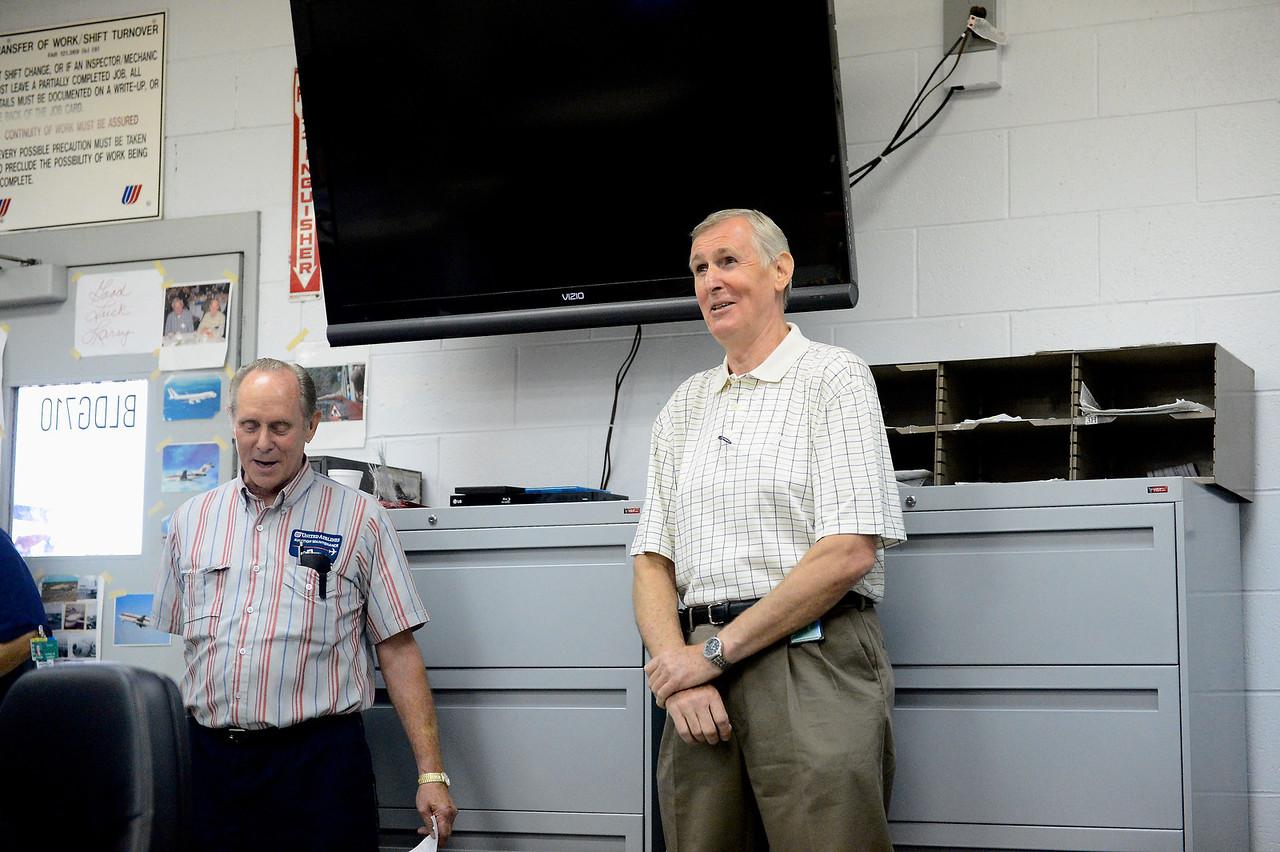Larry Stillwell Retirement