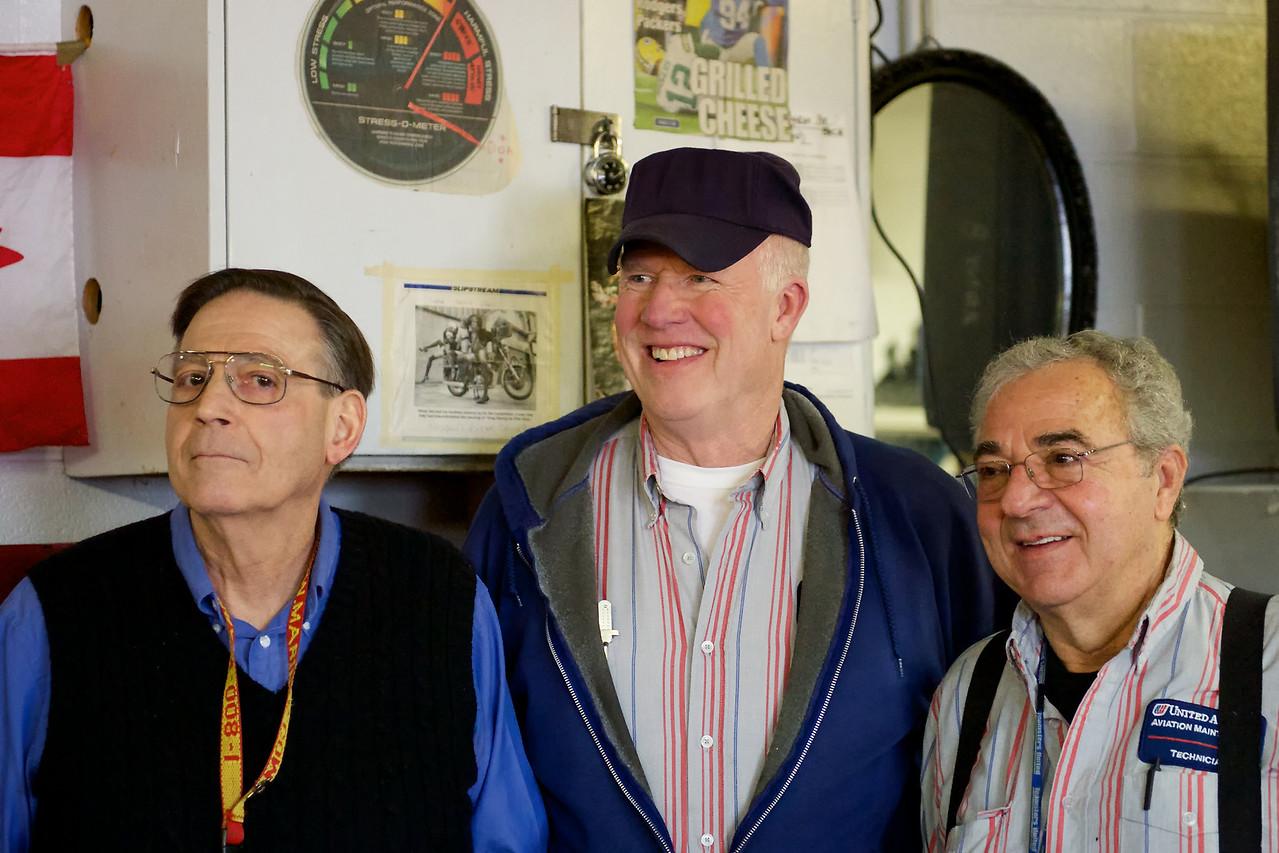 Pete, Harry, Henry Retirement