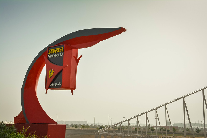 ferrari world united arab emirates