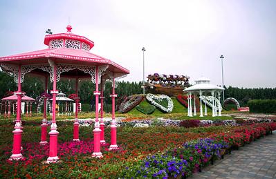 Miracle Garden in Dubai, UAE