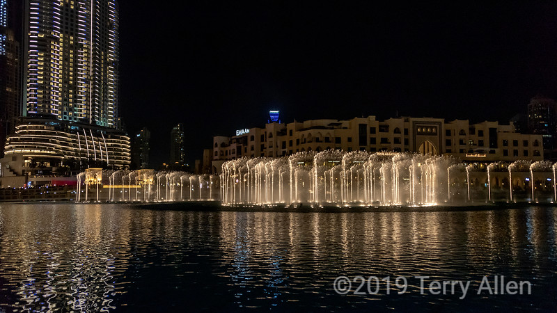 Dubai Fountain and Souk al Bahar, Dubai Mall, UAE