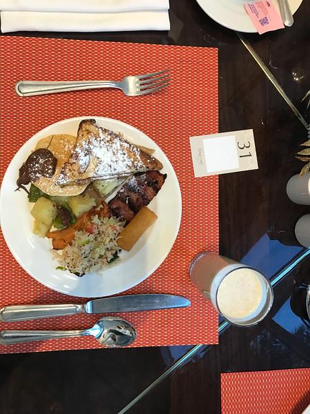 shangri la breakfast