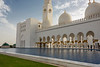 Reflecting pool, Sheikh Zayed Grand Mosque, Abu Dhabi, UAE