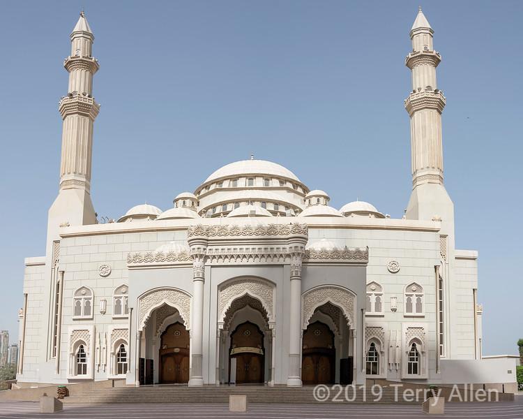 Al Noor mosque, Turkish Ottoman architecture (2005), Sharjah, UAE