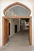 Entry door, old Souk Al Arsah, Sharjah, UAE