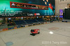 Zamboni refinishing the ice rink, Dubai shopping mall, Dubai, UAE