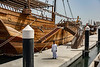Old wooden dhow,Sharjah, UAE