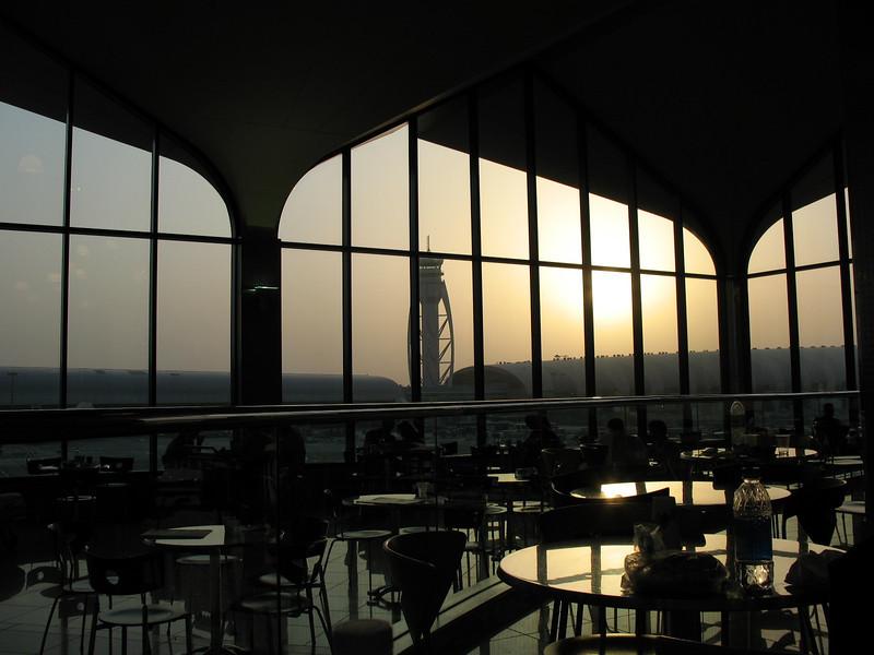 Sunrise in Dubai Airport