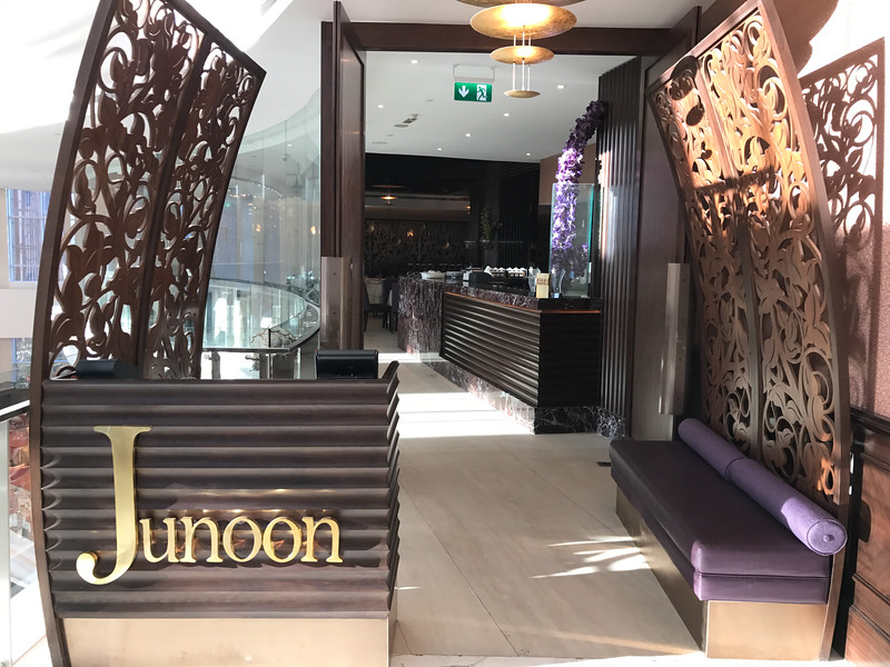 junoon restaurant shangri la hotel in dubai