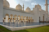 Entry and reflecting pool, Sheikh Zayed Grand Mosque, Abu Dhabi, UAE
