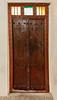 Old carved wooden door, Souk Al Arsah, Sharjah, UAE