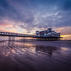 Grand Pier at low tide