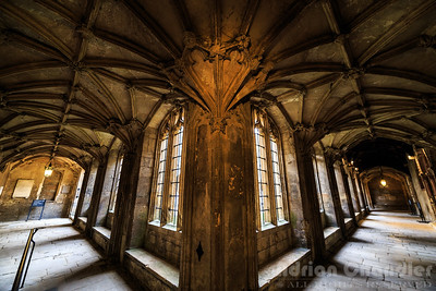 Christ church cloisters, Oxford