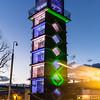 Chrisp Street clock tower