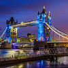 Tower Bridge in Blue