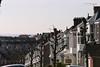 Swansea facades.  <br /> <br /> Uplands, Swansea, Wales.