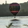 Who said a hotair balloon does not blast off............