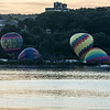 Balloon launch 6July2014 Poughkeepsie, NY.    About a mile to the launch site from the location shot on the Ulster County River shore at 6am a little after sunrise.<br /> <br /> Other than shooting into the rising run, haze still hanging over the valley it was not a bad morning.