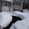 Carved out a simple path.  Storm dump of 1.25 - 26.2011
