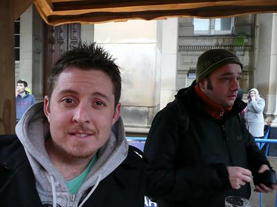 Dave & flatmate Alex