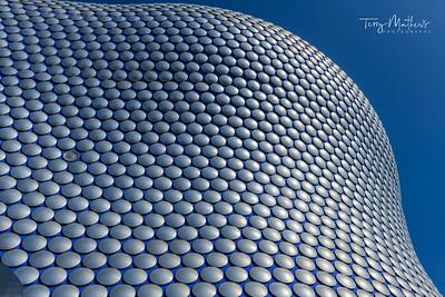 The iconic Selfridges exterior is a landmark building in Birmingham, England.