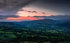 A Chequered Sunset - Brecon Beacons, Wales, United Kingdom