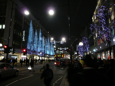 Looking east down Oxford Street