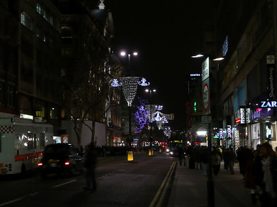 Looking east down New Oxford Street