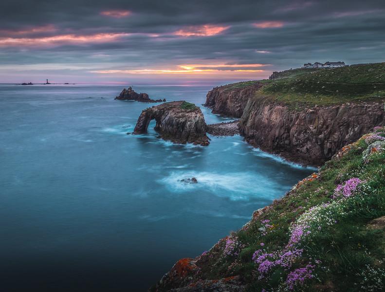 Bleeding Sky - Land's End, Cornwall