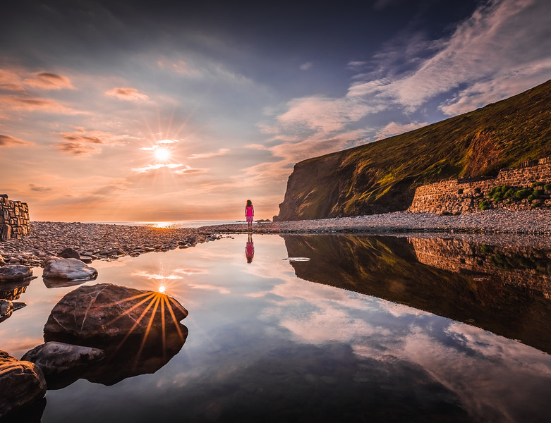 Reflections! - Crackington Haven, Cornwall