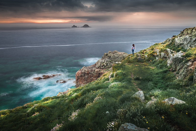 Chasing Light! - Porth Nanven, Cornwall