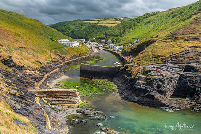 Boscastle Passing Storm