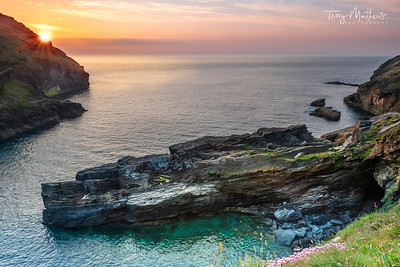 Tintagel Sunset