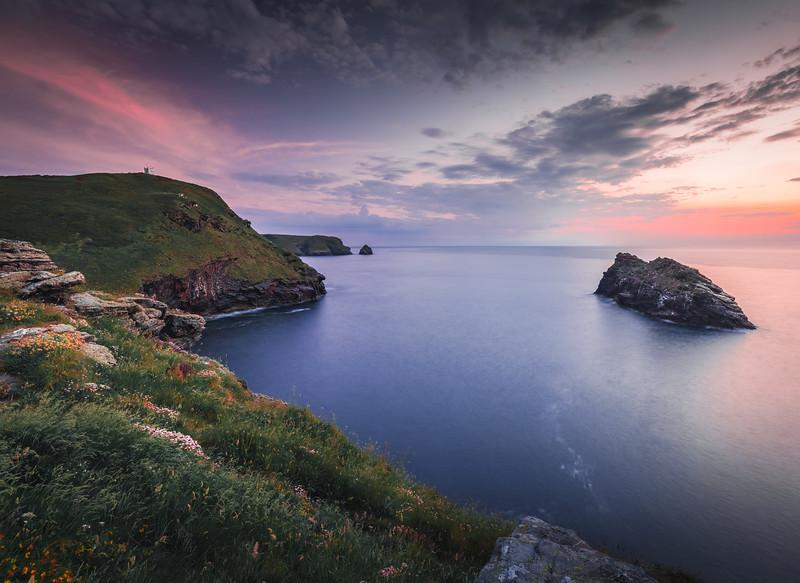 Before Nightfall - Boscastle, Cornwall