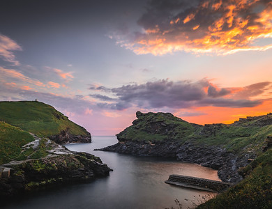Snake Harbour - Boscastle, Cornwall