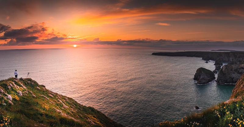A photographer's dream! - Bedruthan Steps, Cornwall