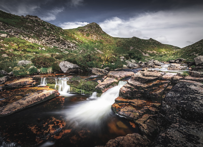 Carved by water - Tavy Cleave, Dartmoor