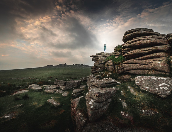 Mountain Climber - Great Staple Tor, Dartmoor