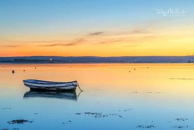 UK Weather: A peaceful start to the day on the River Torridege at Appledore, North Devon.