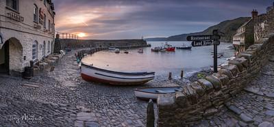 Clovelly Harbour Dawn