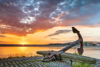 Appledore Anchor Sunrise
