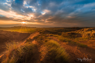 Braunton Burrows Sunset