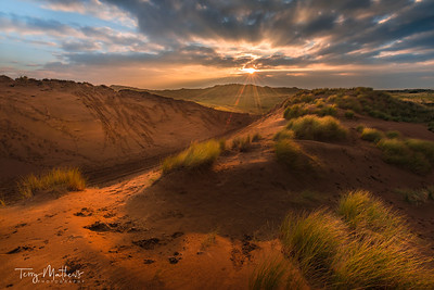 Braunton Burrows Sunset