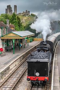 Corfe Railway Station
