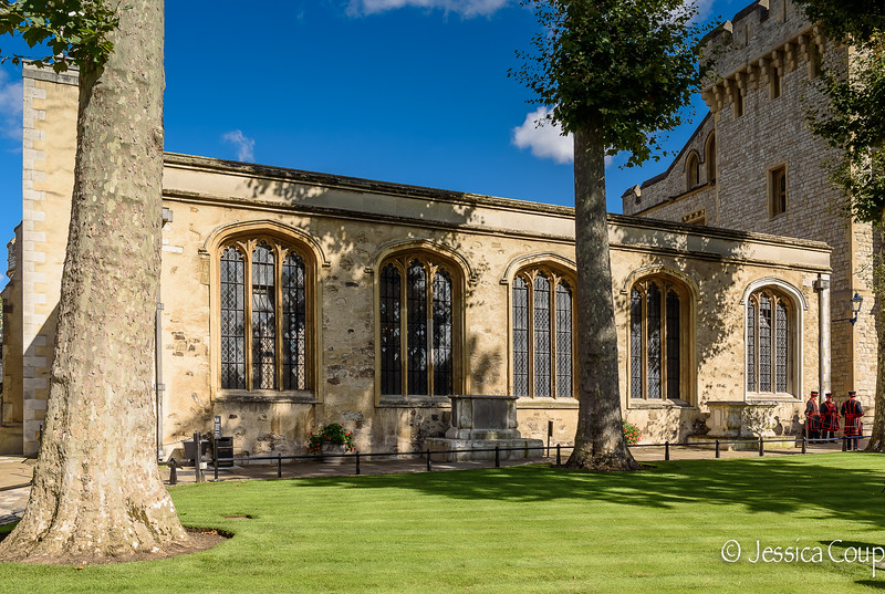 The Chapel of St. Peter ad Vincula in the Tower of London