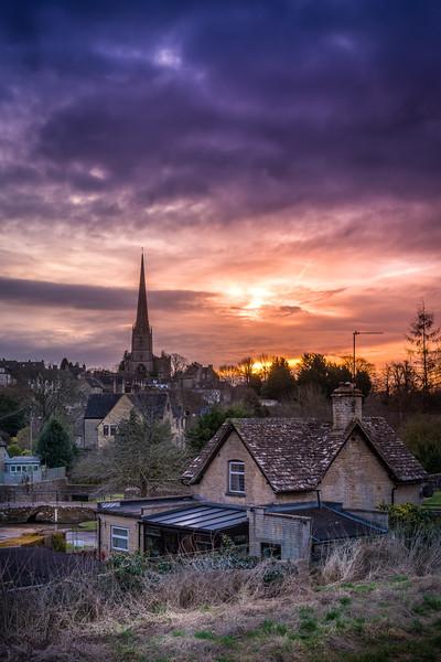 Cutwell Tetbury Sunrise
