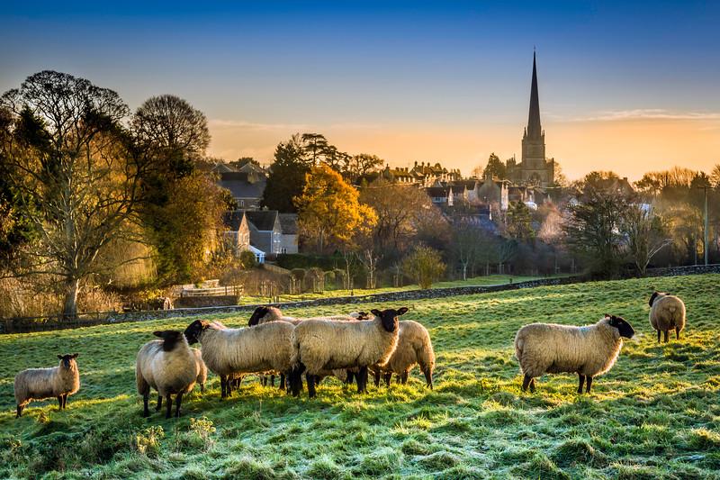 December Dawn in Tetbury